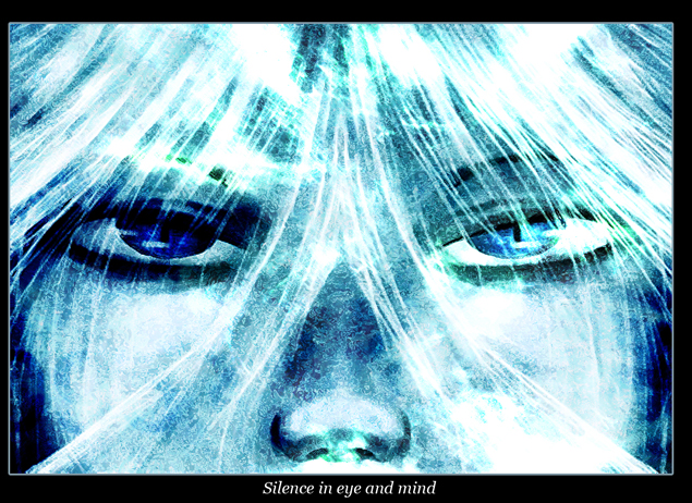 Silence in eye and mind